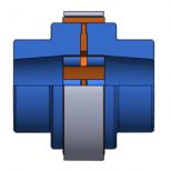 Acoplamiento elástico para casquillo cónico :: UNE Acoflex AT Series