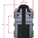 Acoplamiento flexible para casquillo cónico :: UNE F Series