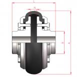 Acoplamiento flexible para eje directo :: UNE M Series