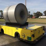 AGV de 30 toneladas para el manejo de bobinas :: DTA