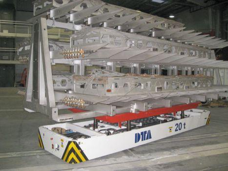 AGV para autoclaves DTA