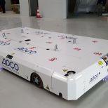 AGV con guiado óptico para el transporte de tanques de combustible :: DTA