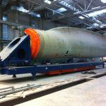 AGV para el manejo de palas eólicas :: DTA