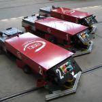 AGV para el transporte de trenes logísticos :: ASTI EASYBOT