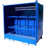 Armario de seguridad para 6 bidones :: Fabricaciones Metálicas