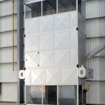 Calefacción de almacenes por rotación de aire :: AMBIRAD