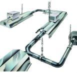Calefacción radiante a gas de tubo continuo :: AMBIRAD Nor-Ray-Vac