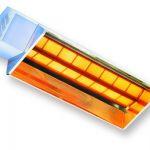 Calefactor radiante infrarrojo a gas :: AMBIRAD RV series