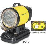 Calefactor radiante infrarrojo a gas :: KRUGER IS17