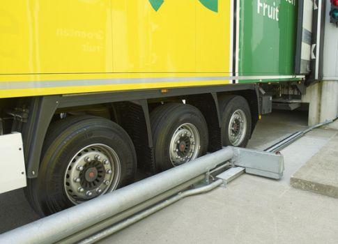 Calzos automáticos para camiones SACINE