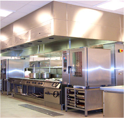 Campana para cocinas industriales ambirad for Todo para cocinas industriales