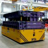 Carretón eléctrico para el transporte de matrices :: DTA