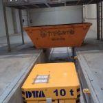 Carretón sobre carriles con elevación :: DTA