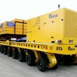 Carro autopropulsado modular para mover contenedores radioactivos :: DTA