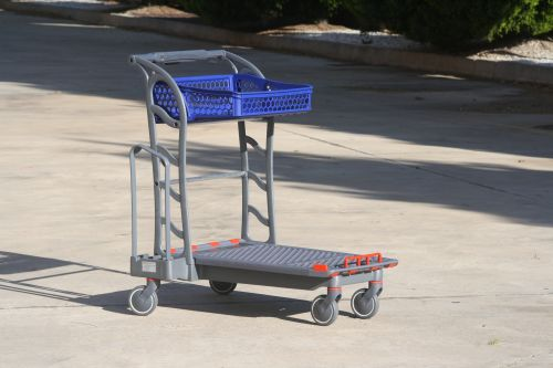 Carro bricolaje CARTTEC F150 Flat carrier