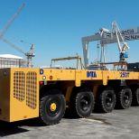 Carro motorizado para astilleros :: DTA