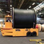 Carro motorizado diésel para el transporte de bobinas :: DTA
