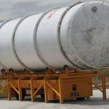Carro motorizado eléctrico para mover depósitos de gas :: DTA