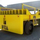 Carro motorizado eléctrico para el transporte de bobinas :: DTA