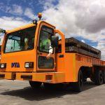 Carro motorizado para el transporte de troqueles :: DTA