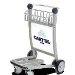 Carro portaequipaje para aeropuerto :: CARTTEC CARTT4100-W2