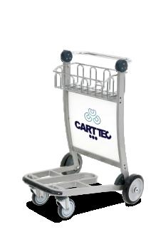 Carro portaequipaje para aeropuerto CARTTEC CARTT4100-W2