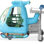 Carro portaequipaje para aeropuerto :: CARTTEC KID CARTT