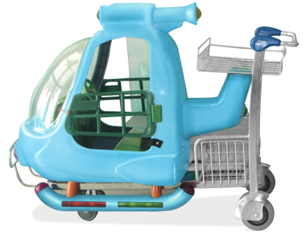 Carro portaequipaje para aeropuerto CARTTEC KID CARTT