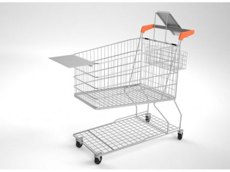 Carro de supermercado CARMELO GC-Autoserv-extras