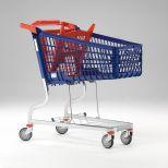 Carro de supermercado polysteel :: MARSANZ 160L GRAN CARGA