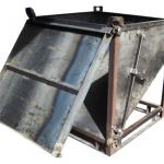 Contenedor de apertura frontal :: Fabricaciones Metálicas
