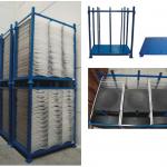 Contenedor metálico desmontable y apilable :: Fabricaciones Metálicas