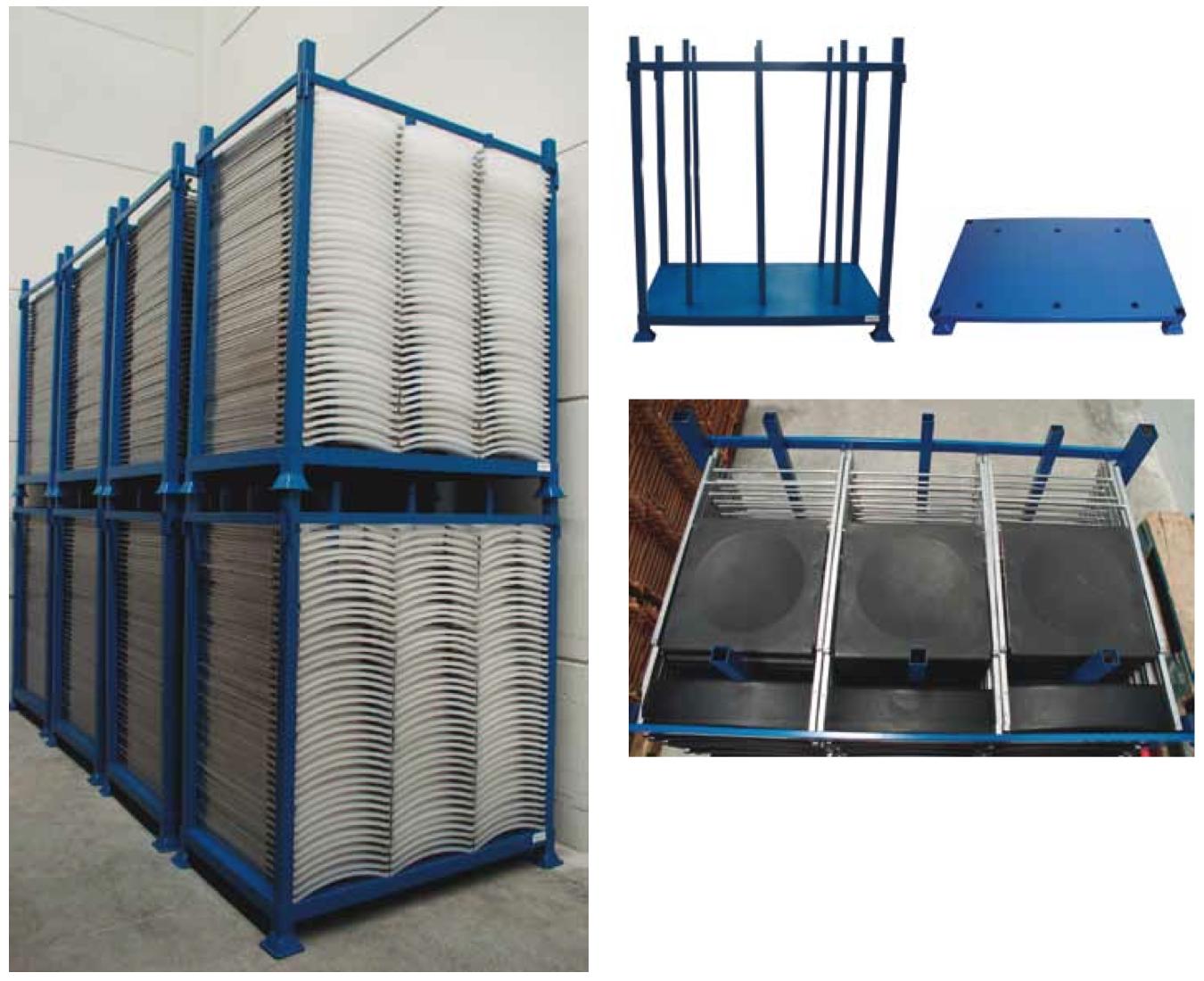 Contenedor met lico desmontable y apilable fabricaciones - Contenedores metalicos apilables ...
