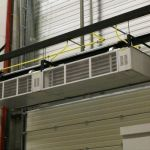 Cortina de aire industrial :: AIRBLOC AB