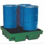 Cubeta de retención plástica :: Fabricaciones Metálicas