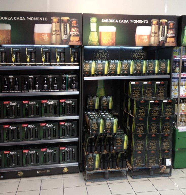 Estanter a para comercio de botellas marsanz - Estanterias para botellas ...