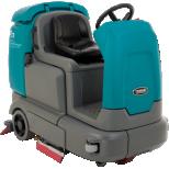 Fregadora compacta a baterías de conductor sentado :: TENNANT T12
