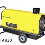 Generador de aire caliente de combustión indirecta :: KRUGER STAR30