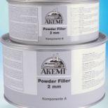 Masilla de dos componentes :: AKEMI Powder filler 2 mm - Ref. 70410