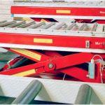 Mesa elevadora de simple tijera para alta cadencia :: Dexve