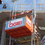 Montacargas elevador de materiales :: OGEI S-1000
