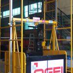 Montacargas elevador de materiales :: OGEI O-750