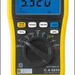 Multímetro digital :: CHAUVIN ARNOUX C.A 5233