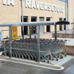 Parking cubierto para carros de supermercado :: COVERCARTT BASIC