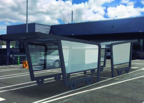 Parking cubierto para carros de supermercado COVERCARTT CHARIOT