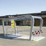 Parking cubierto para carros de supermercado :: COVERCARTT NICE