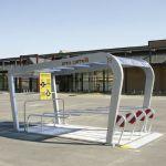 Parking cubierto para carros de supermercado :: COVERCARTT NICE