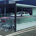 Parking cubierto para carros de supermercado :: COVERCARTT OLIVER
