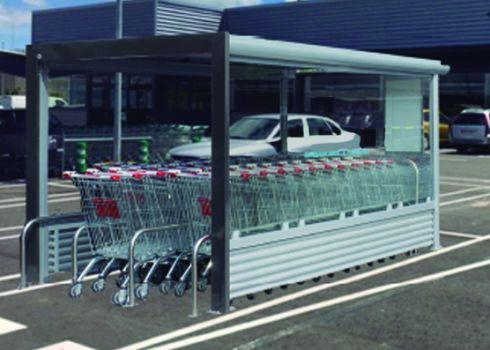 Parking cubierto para carros de supermercado COVERCARTT OLIVER