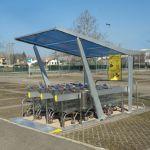 Parking cubierto para carros de supermercado :: COVERCARTT WINGS